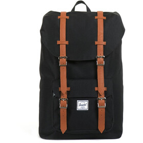 Herschel Little America Mid-Volume Rucksack 17l black/tan